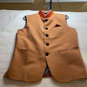Men's Indian Nehru Modi Wedding Vest Size 38